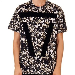 Givenchy floral shirt with V